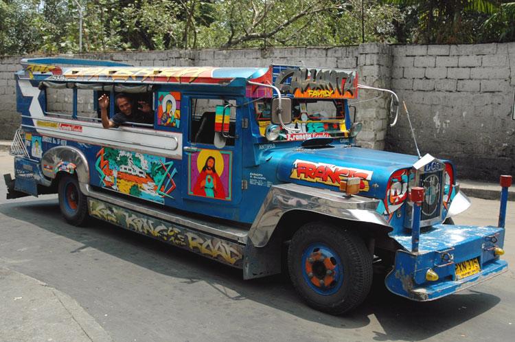 Ang Jeepney atbp. pinakasikat na pampublikong sasakyan sa Pilipinas